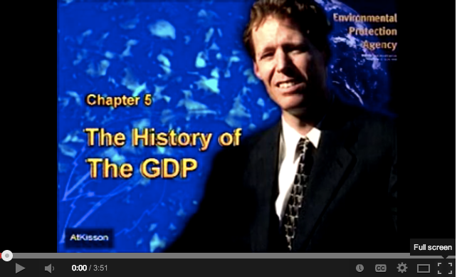Alan AtKisson: Describing the History of GDP